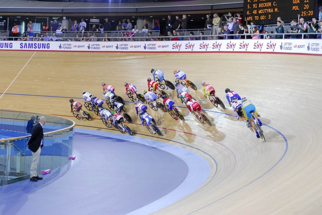 UCI Track Cycling World Cup at the Olympic Velodrome